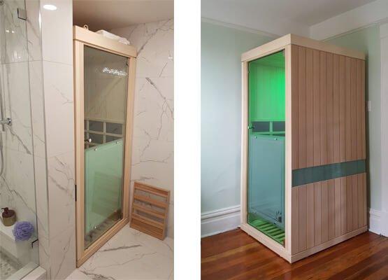 Evolve 10 Sauna Size Dimensions