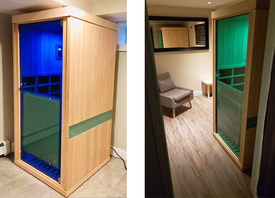 Evolve 10 Sauna LEDs