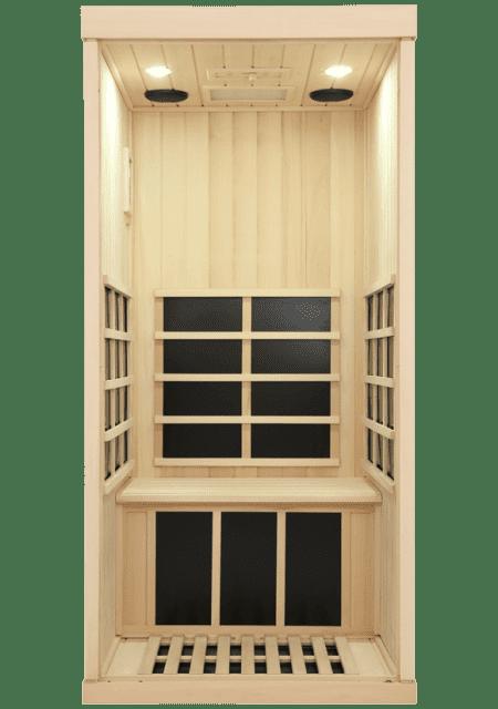 Evolve 10 Sauna Interior