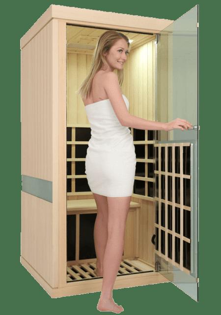 Evolve 10 Sauna Entry