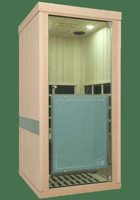 Evolve 10 Sauna Glass Door