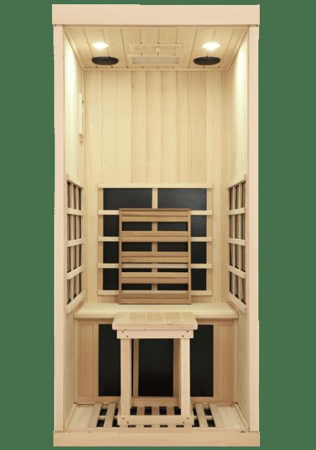 Evolve 10 Sauna Removable Bench and Backrest
